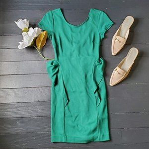 Zara Trafaluc Green Dress